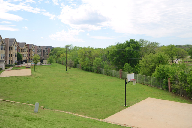 Basketball Court at The Oxford at Iron Horse Apartments in North Richland Hills, TX