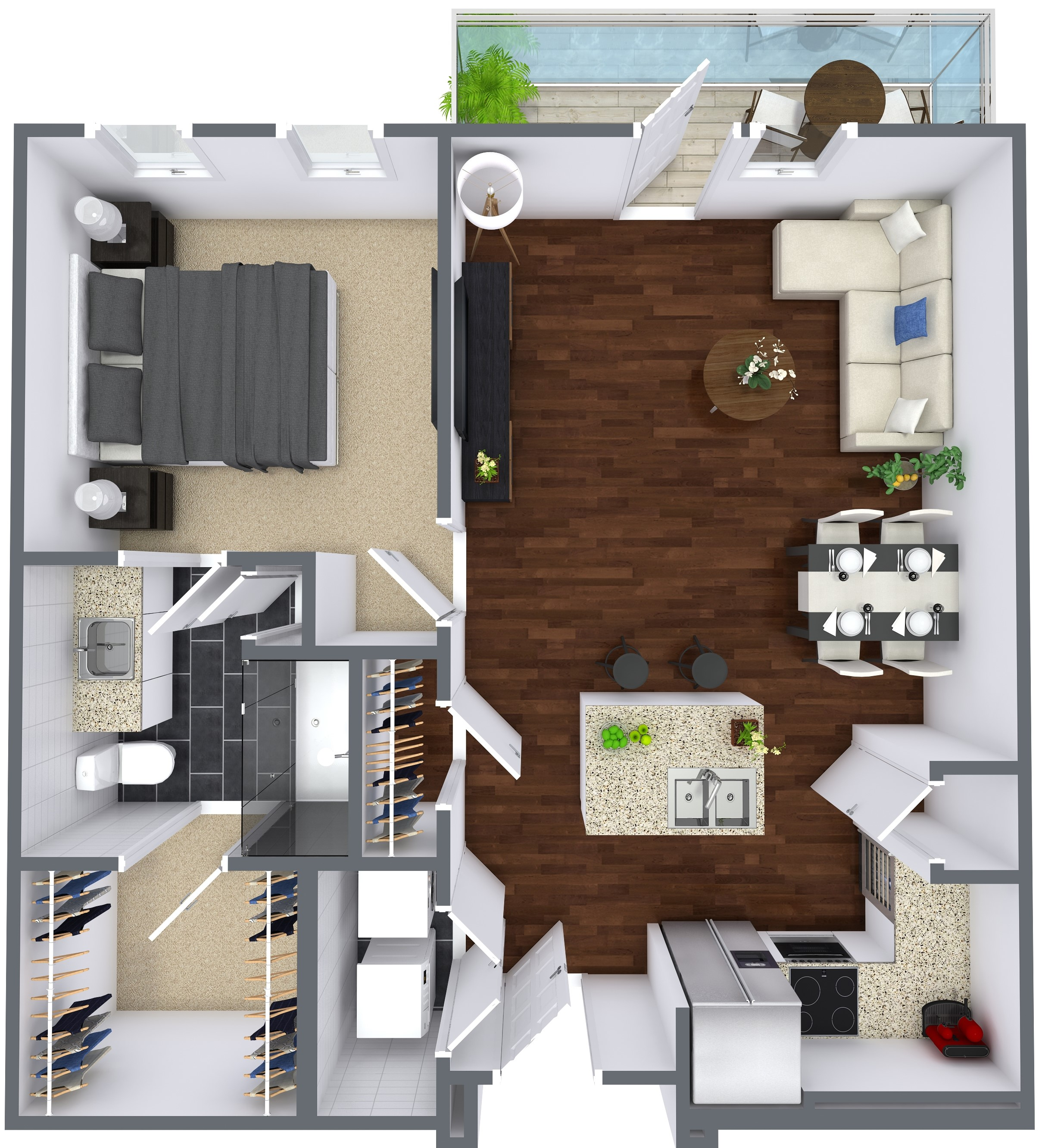 Oxford at Lake View - Floorplan - A1