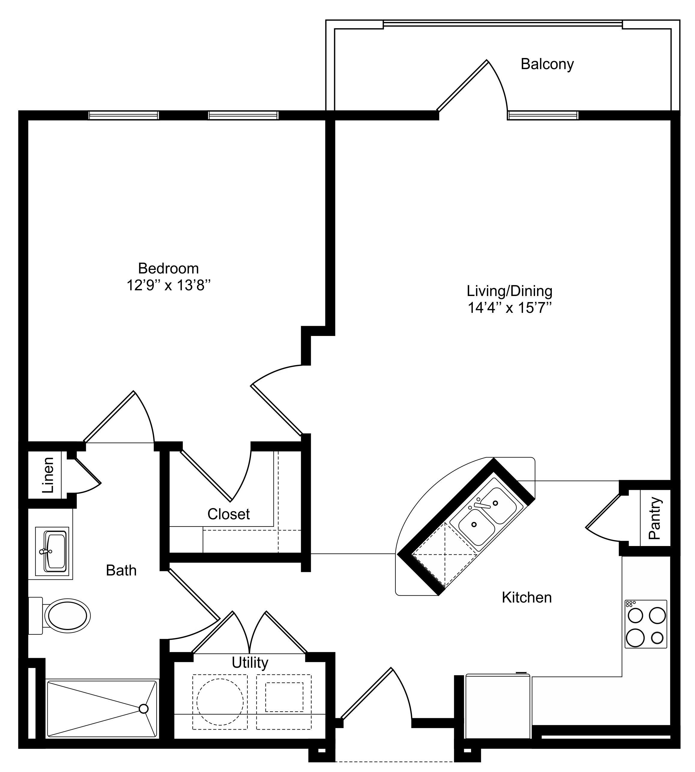 Oxford at Lake View - Floorplan - A2