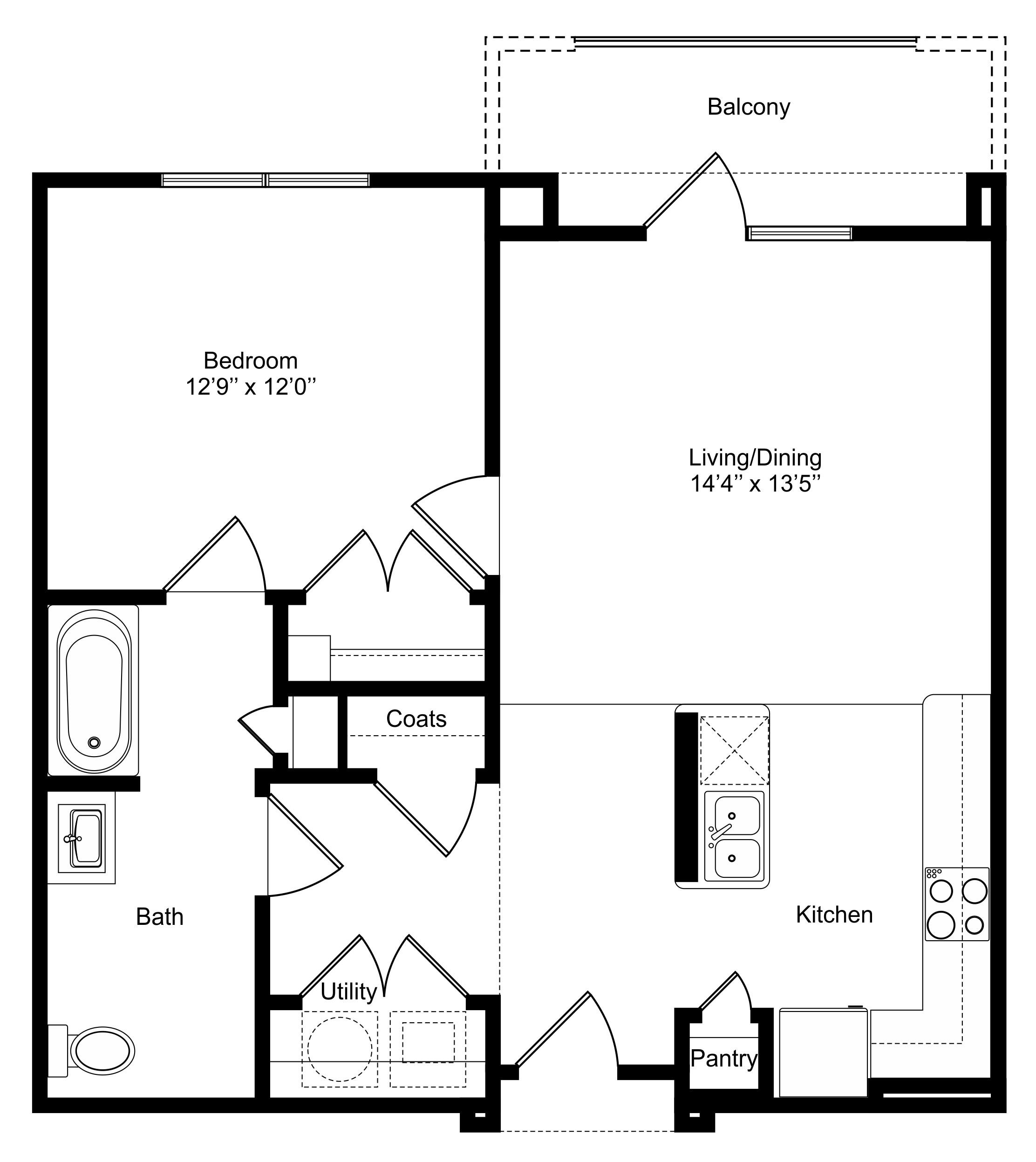 Floorplan - A2a image