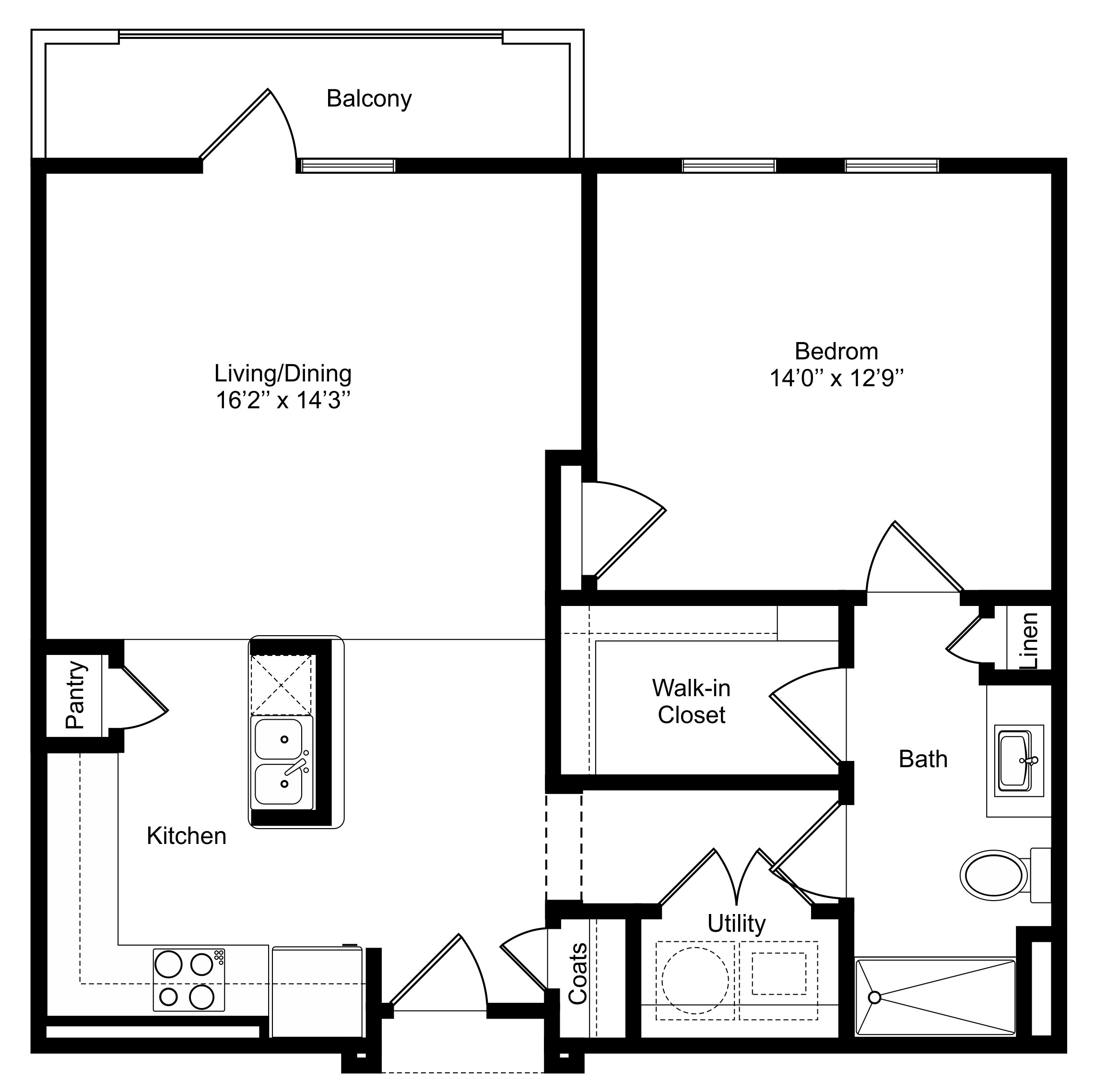 Oxford at Lake View - Floorplan - A3