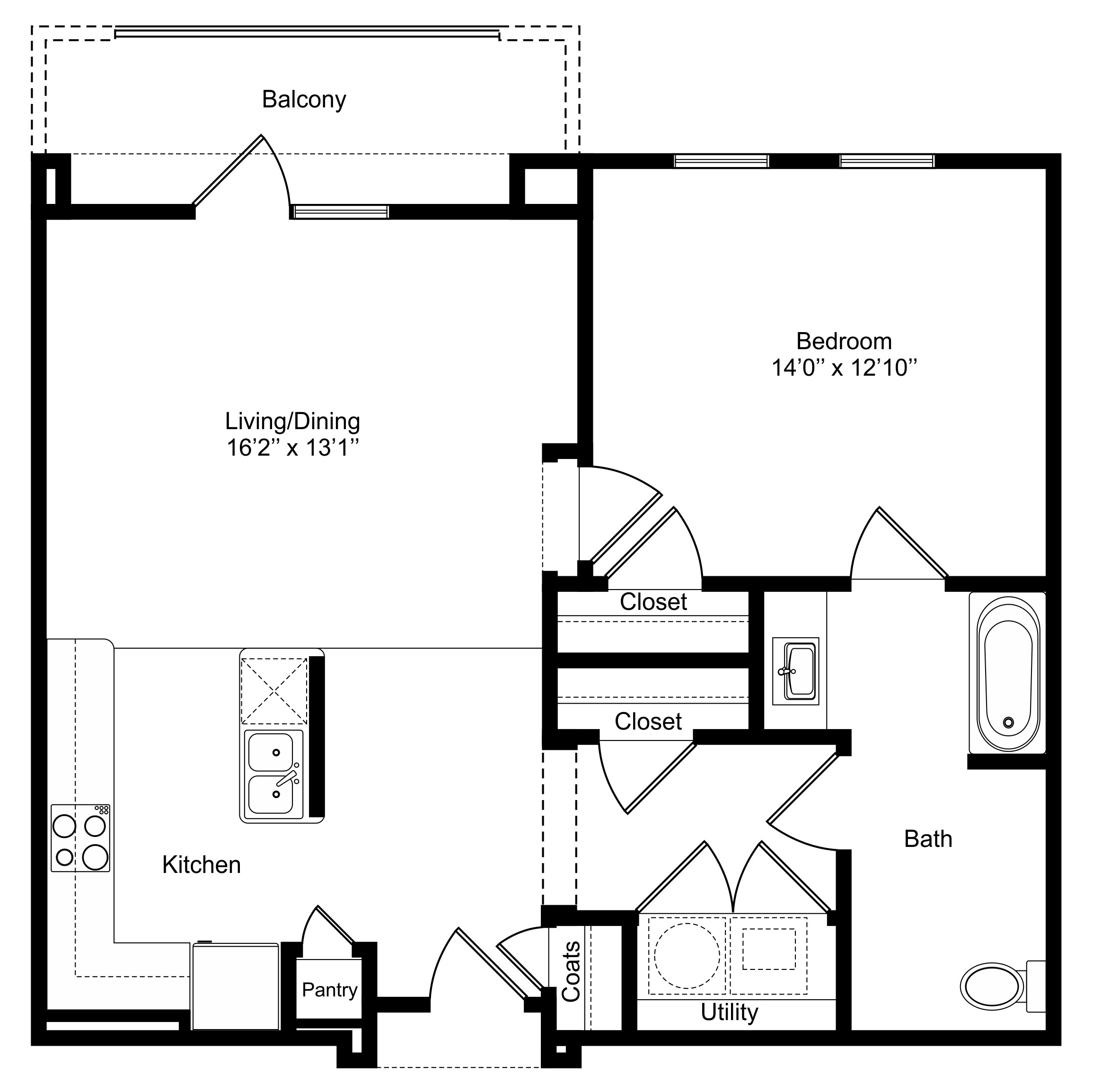 Oxford at Lake View - Floorplan - A3a