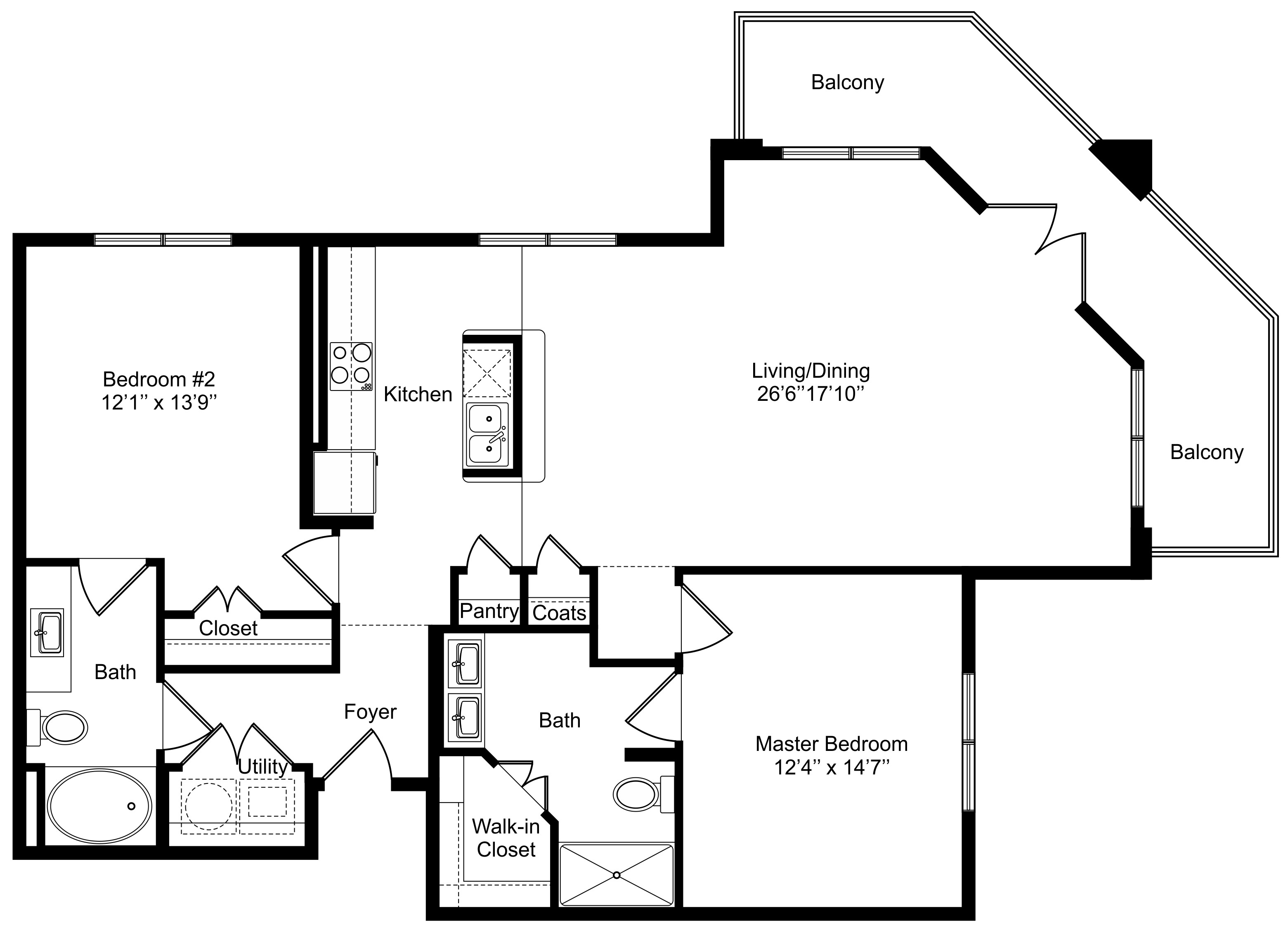 Oxford at Lake View - Floorplan - B2 - Retail