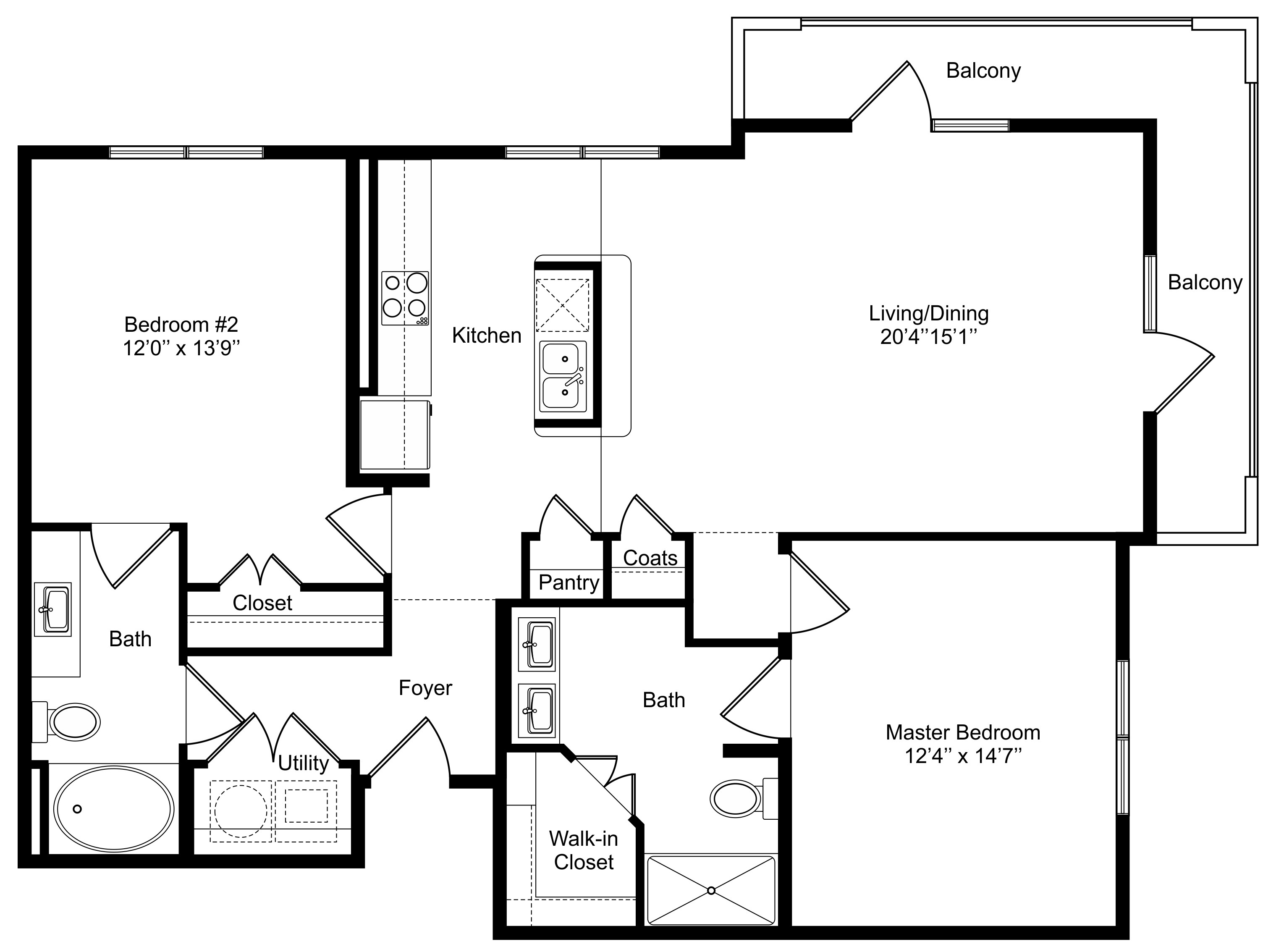 Oxford at Lake View - Floorplan - B2