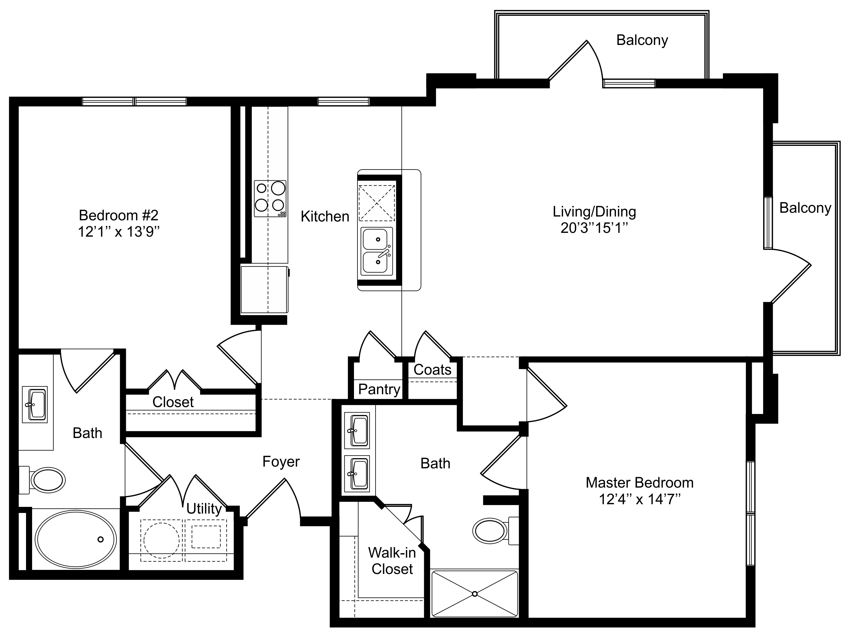 Floorplan - B2 - Tower image