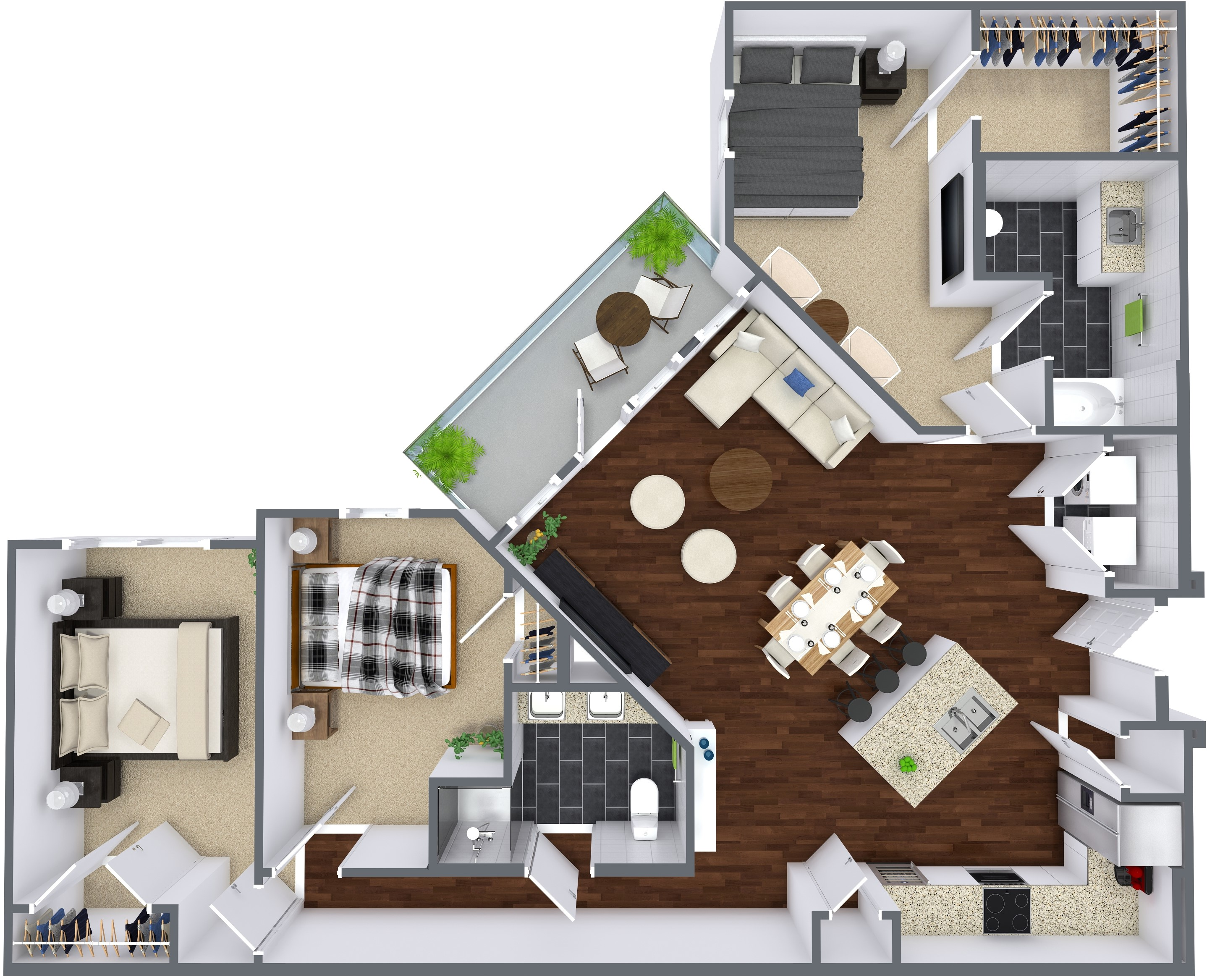 Oxford at Lake View - Floorplan - C1