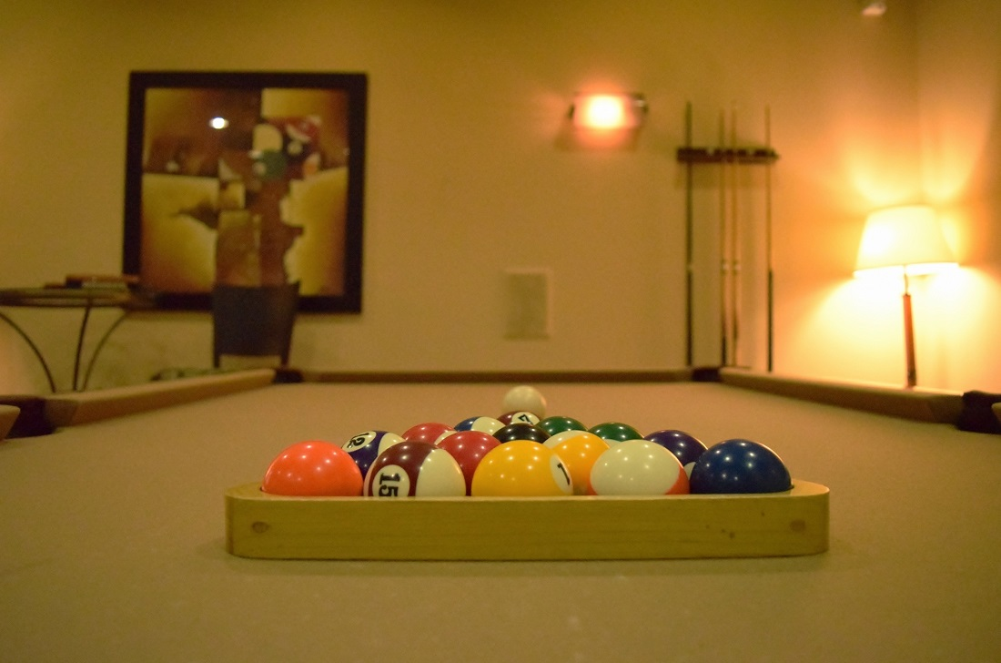 Billiard Table at Oxford at Lake Worth Apartments in Fort Worth, TX