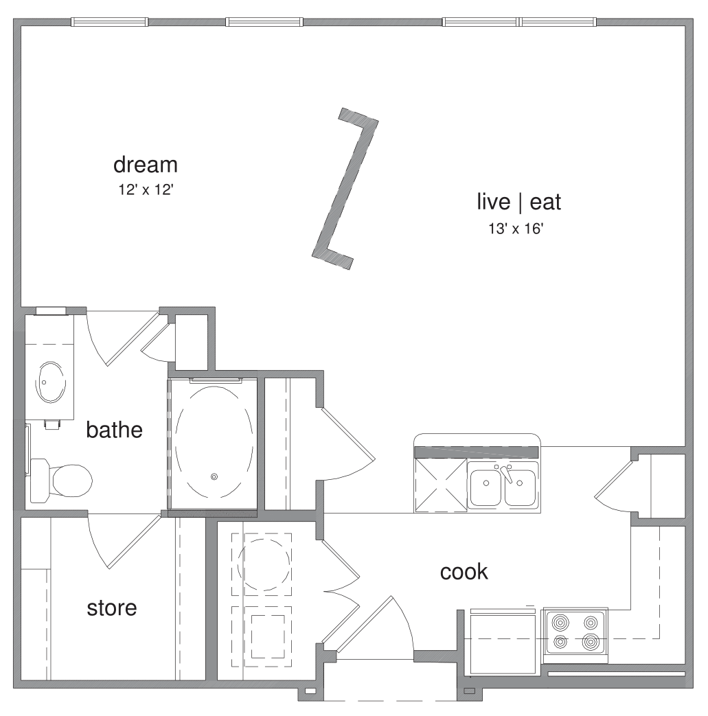 Floorplan - Alexander image
