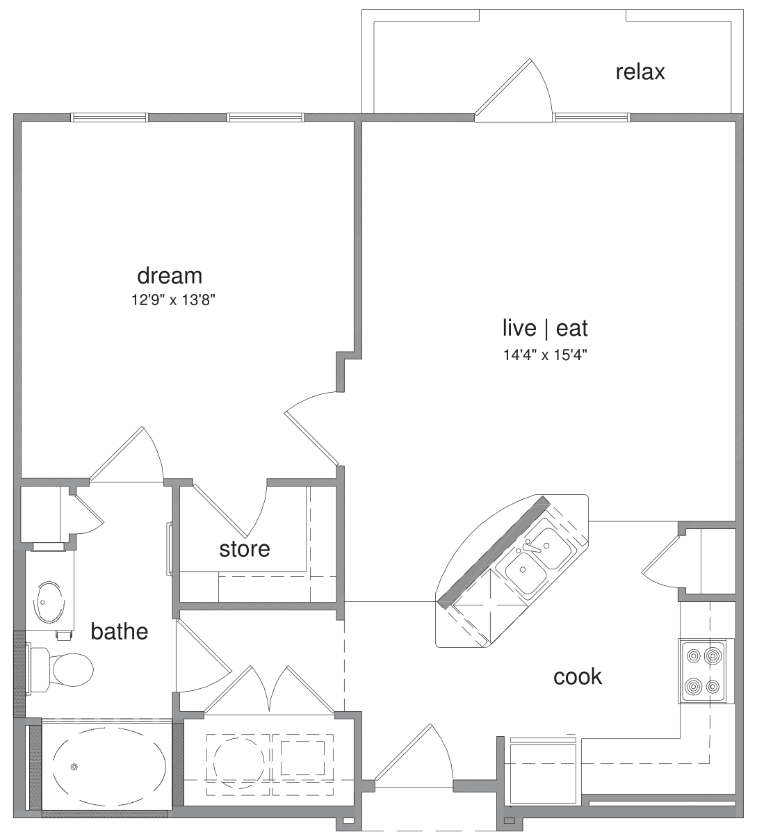 Oxford at The Boulevard - Floorplan - Colin