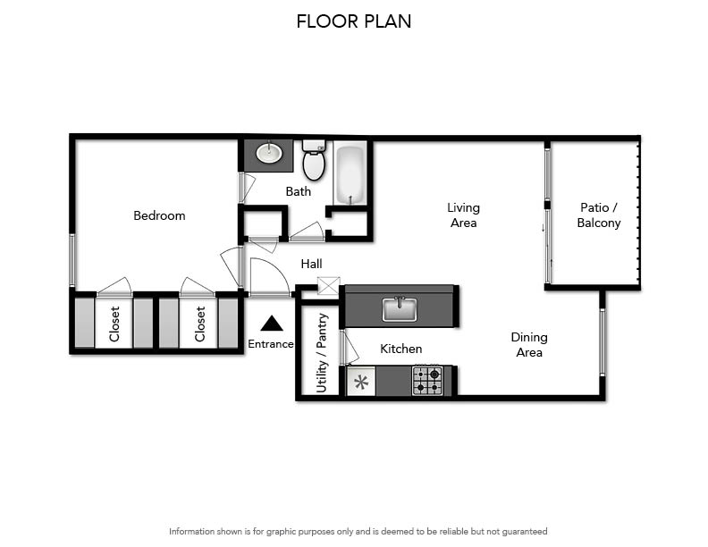 Pacifica Apartments - Floorplan - A1 640