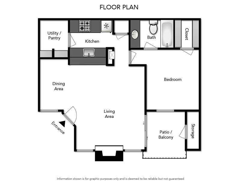 Pacifica Apartments - Floorplan - A2 720