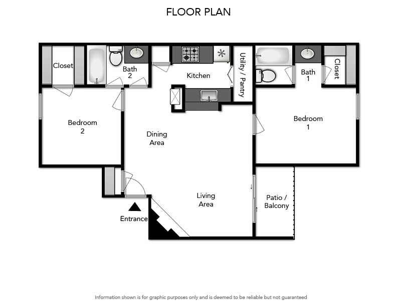 Pacifica Apartments - Floorplan - B1 905