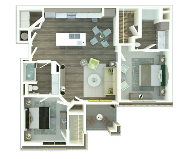 The Palms at Juban Lakes - Floorplan - The Cypress