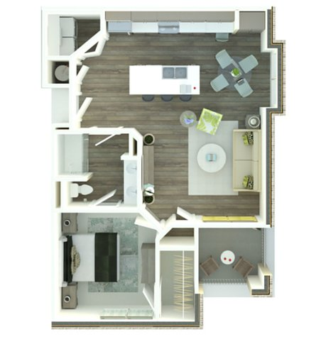 Floorplan - The Palmetto image
