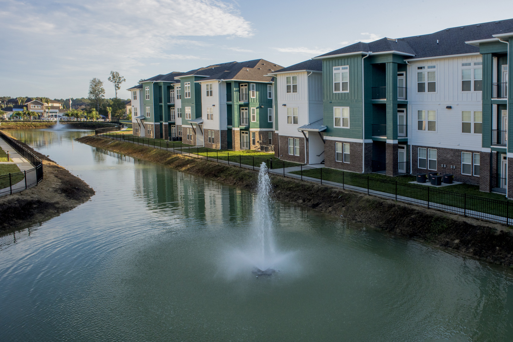 Calming Community at The Palms at Juban Lakes Apartments in Denham Springs, Louisiana