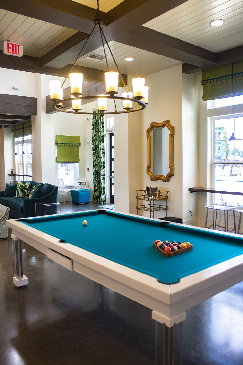 Luxury Game Room at The Palms at Juban Lakes Apartments in Denham Springs, Louisiana