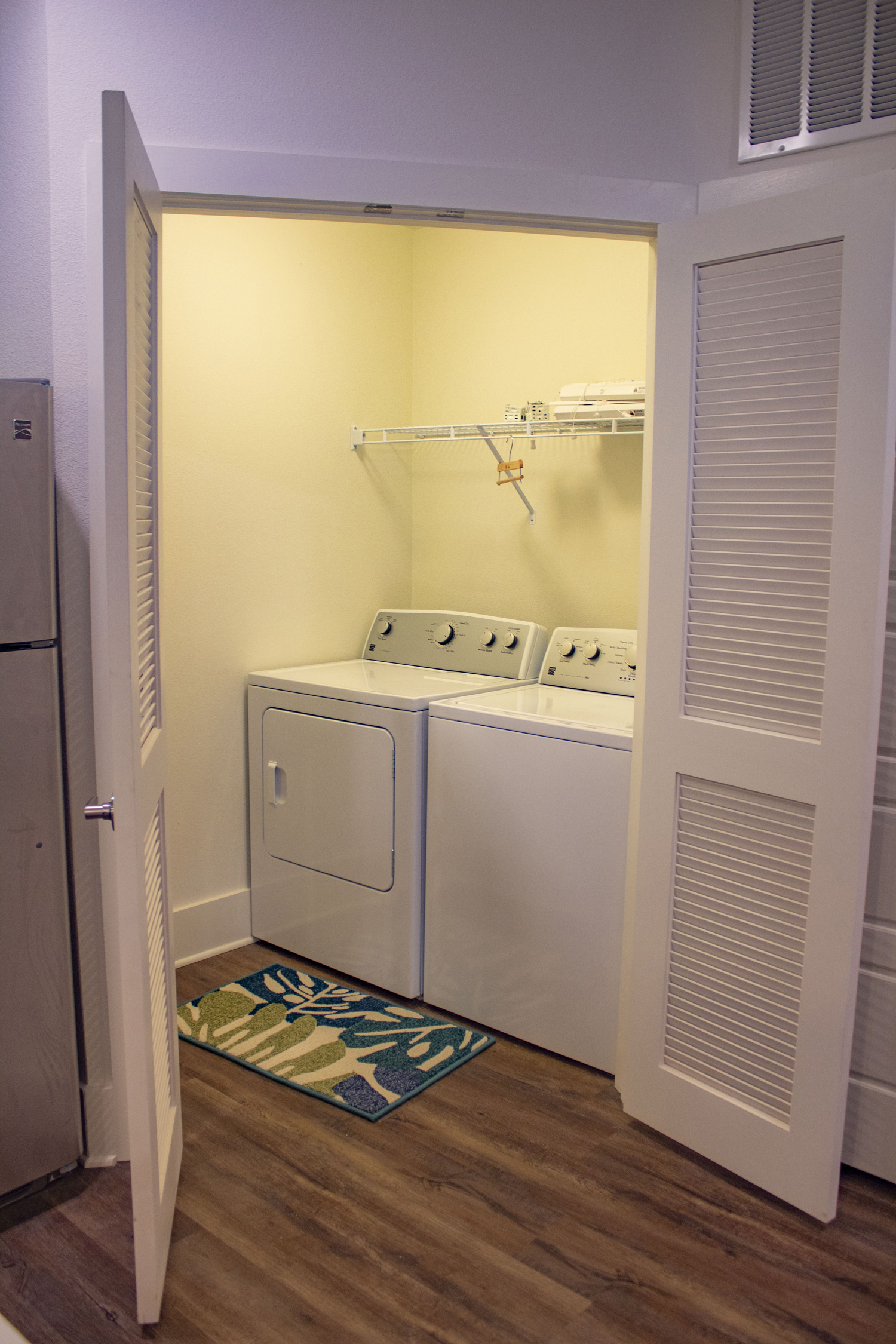 Washers and Dryers at The Palms at Juban Lakes Apartments in Denham Springs, Louisiana