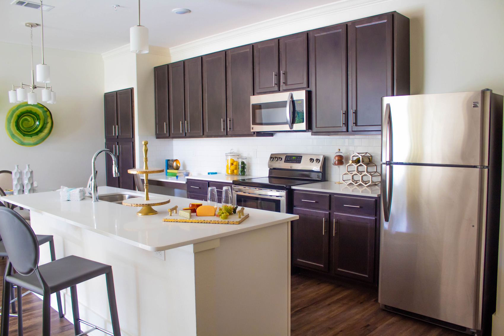 Stainless Steel Appliances at The Palms at Juban Lakes Apartments in Denham Springs, Louisiana