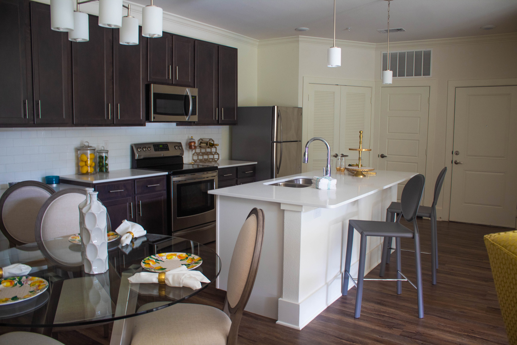 Open Floor Plans at The Palms at Juban Lakes Apartments in Denham Springs, Louisiana