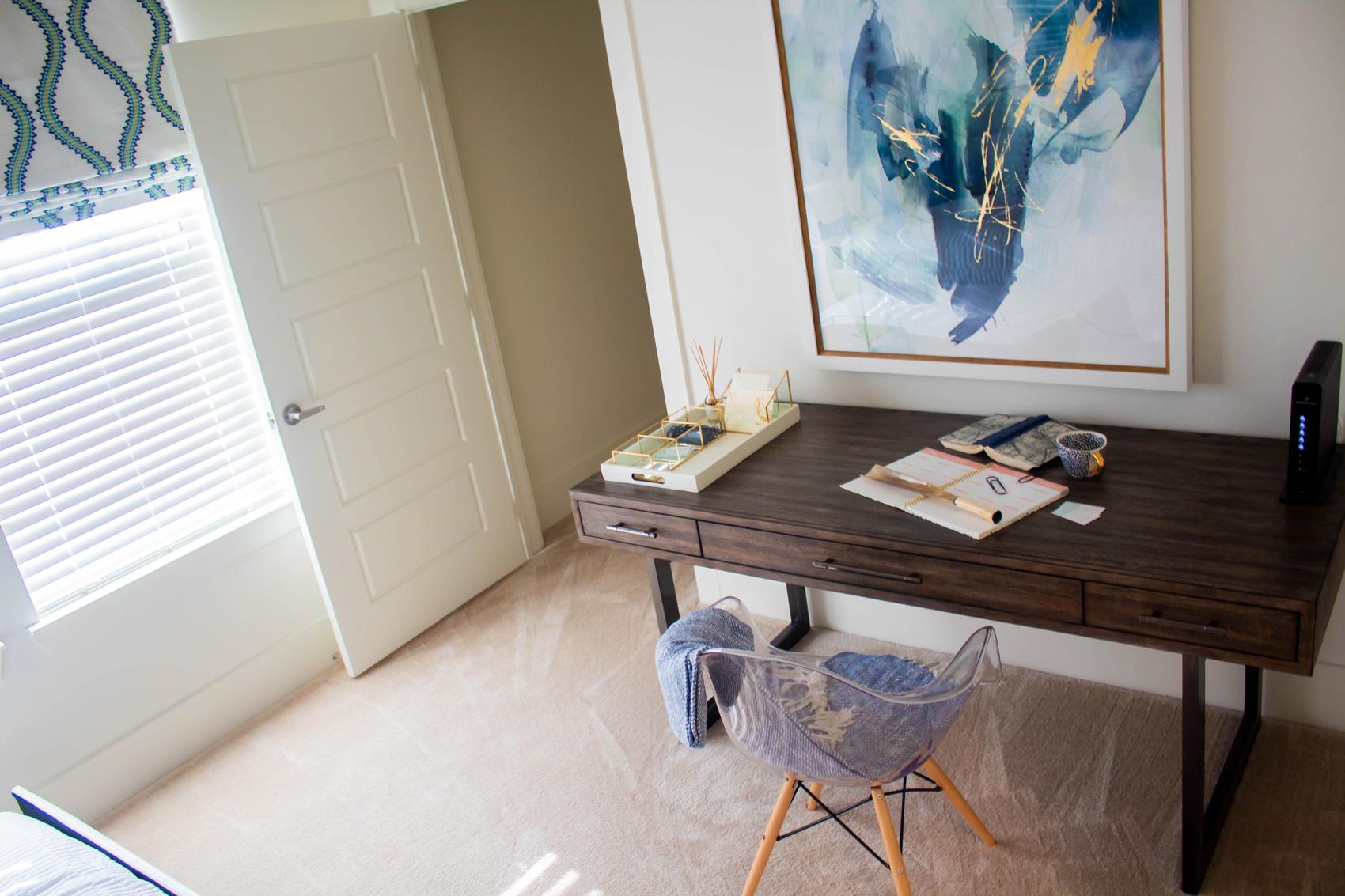 Plush Carpeting at The Palms at Juban Lakes Apartments in Denham Springs, Louisiana