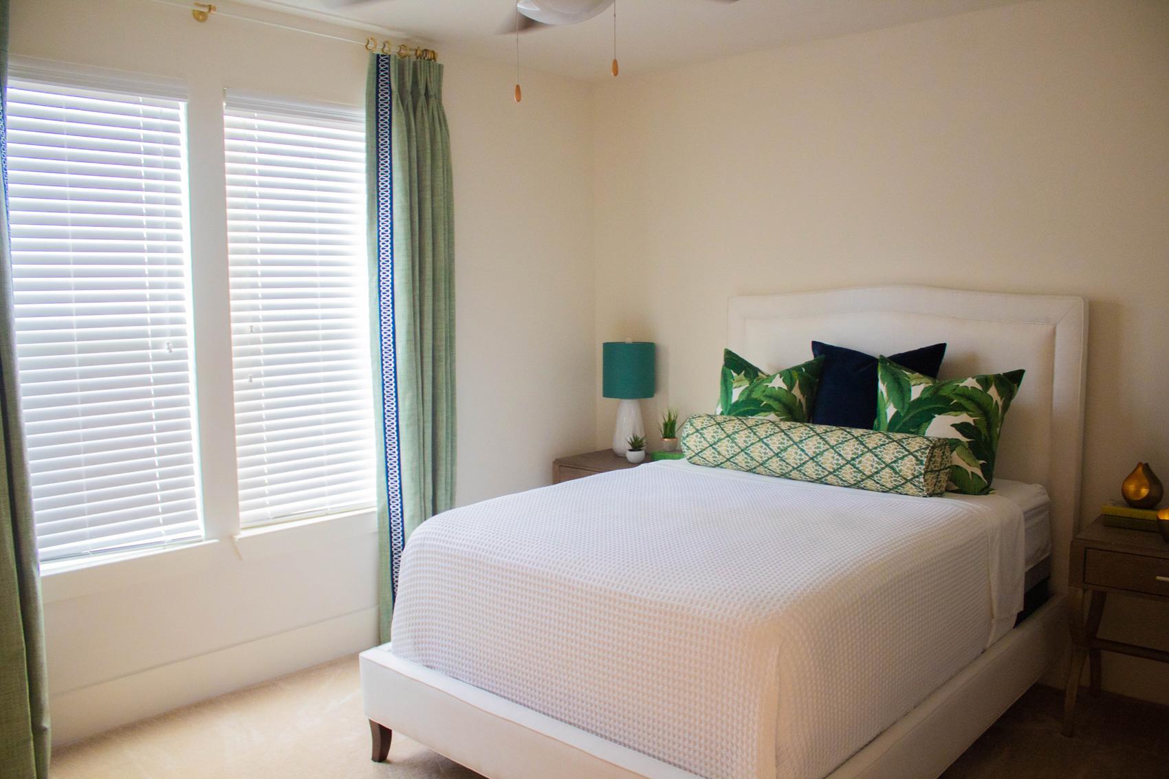 Cozy Bedrooms at The Palms at Juban Lakes Apartments in Denham Springs, Louisiana