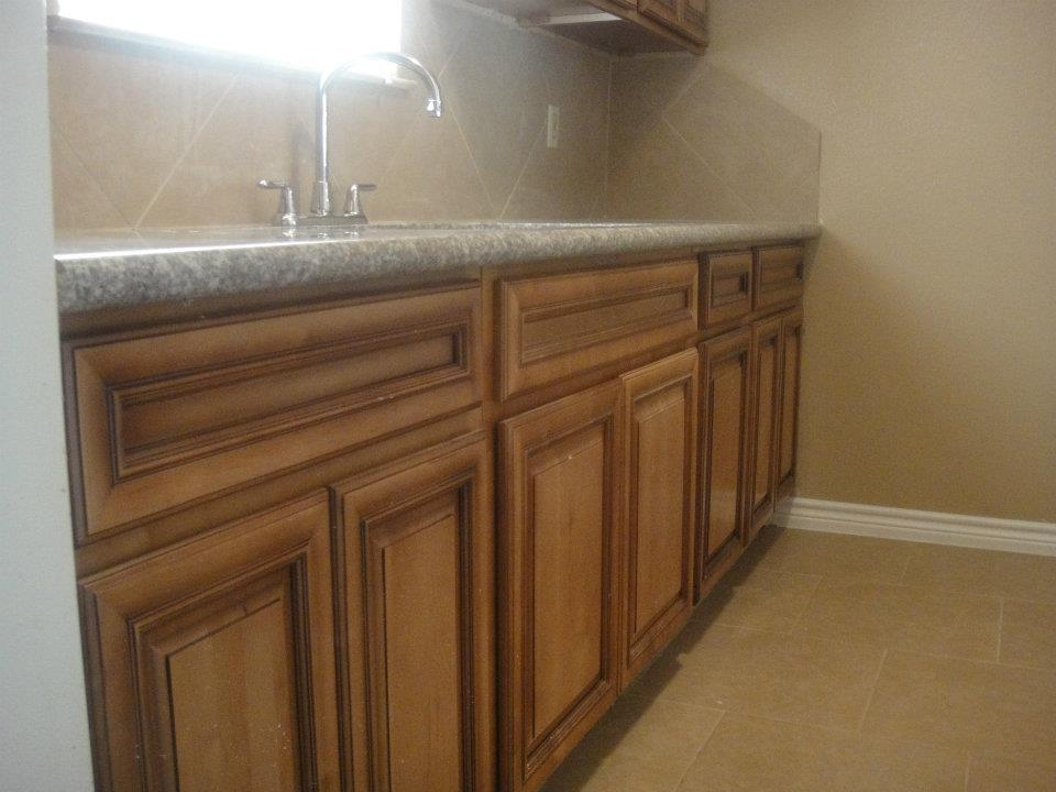 Spacious Kitchen at Palms at Baytown Apartments in Baytown, TX
