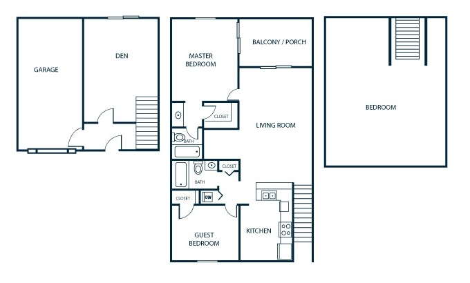 Floorplan - Townhome  image