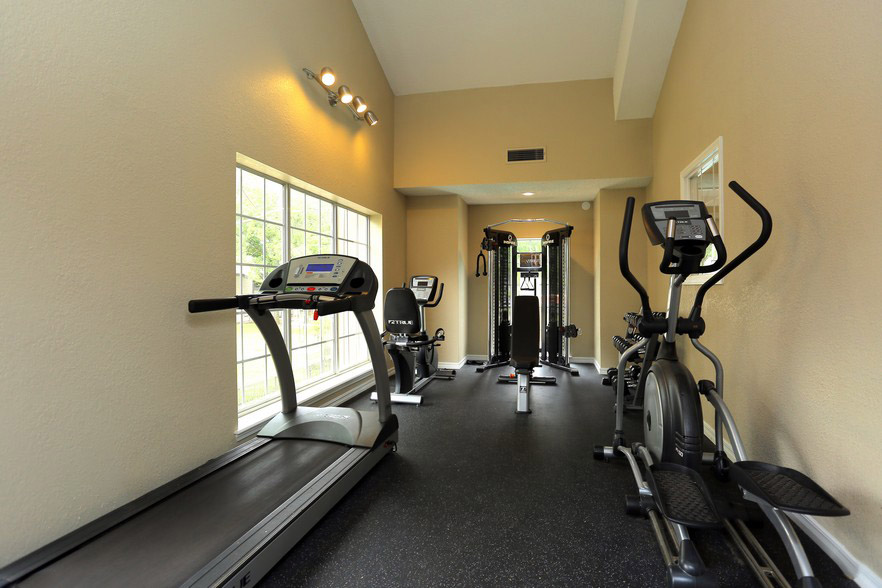 Fitness Center at The Park at Forest Oaks Apartments in Tulsa, OK