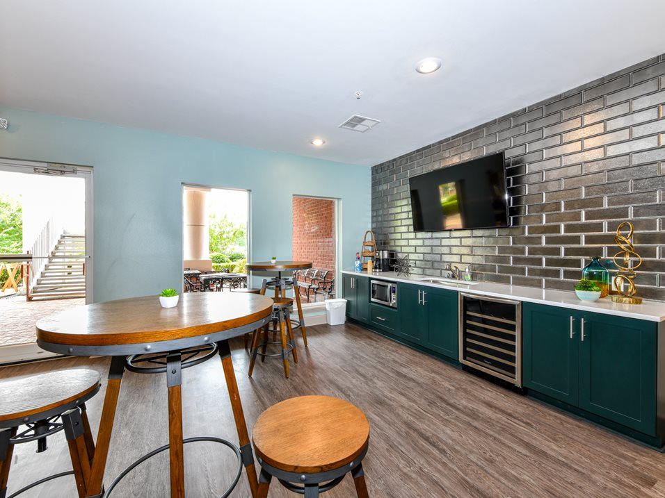 Complimentary Coffee Bar at The Park at Forest Hill Apartments in Memphis, Tennessee