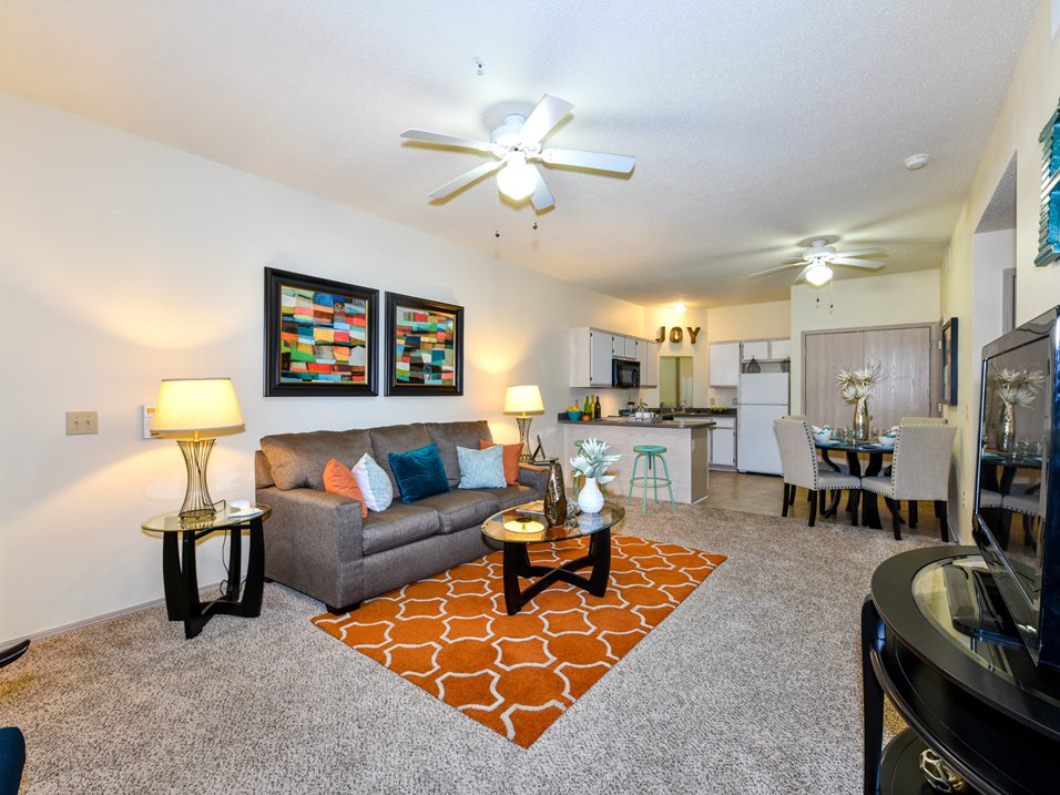 Spacious Floor Plans at The Park at Forest Hill Apartments in Memphis, Tennessee