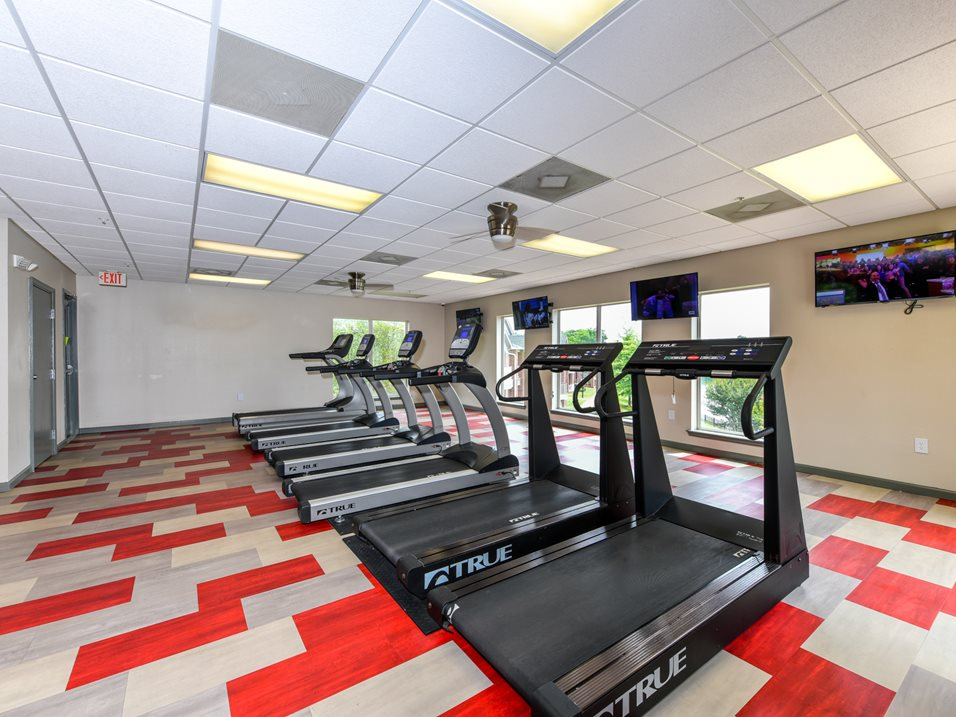 Fitness On-Demand Available at The Park at Forest Hill Apartments in Memphis, Tennessee