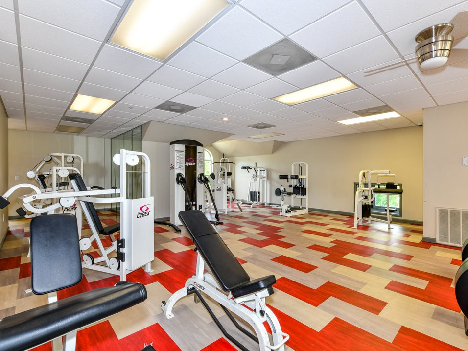 On-Site Gym at The Park at Forest Hill Apartments in Memphis, Tennessee