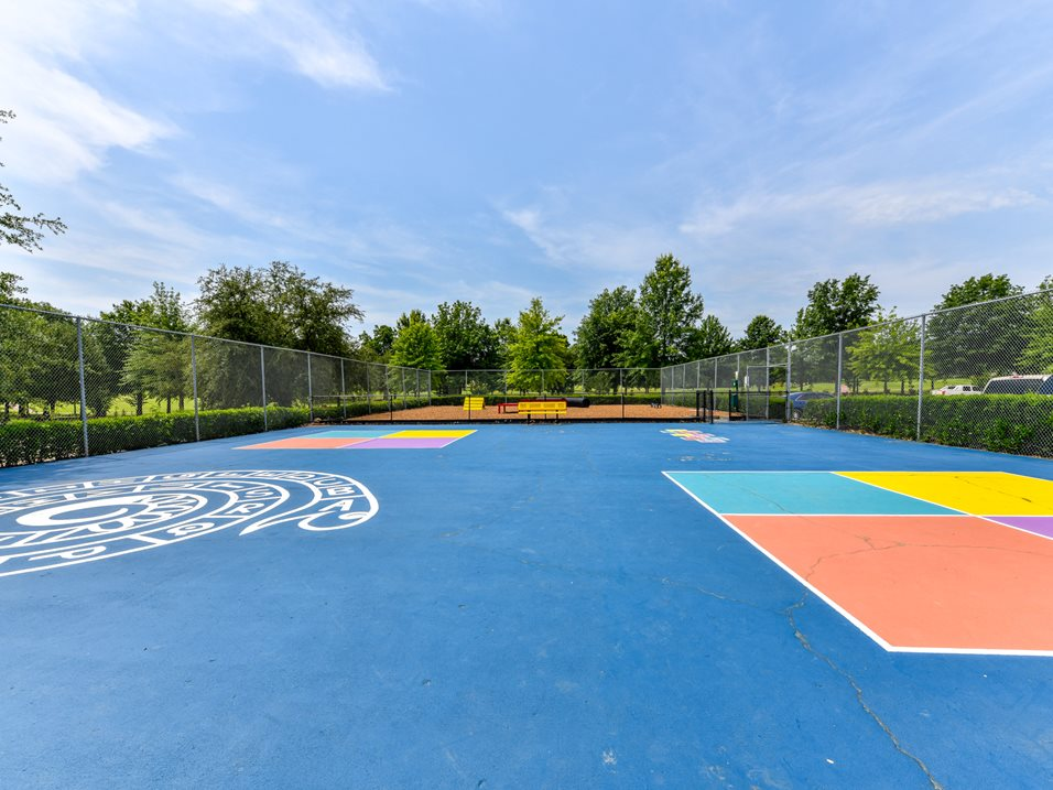 Tot Lot at The Park at Forest Hill Apartments in Memphis, Tennessee