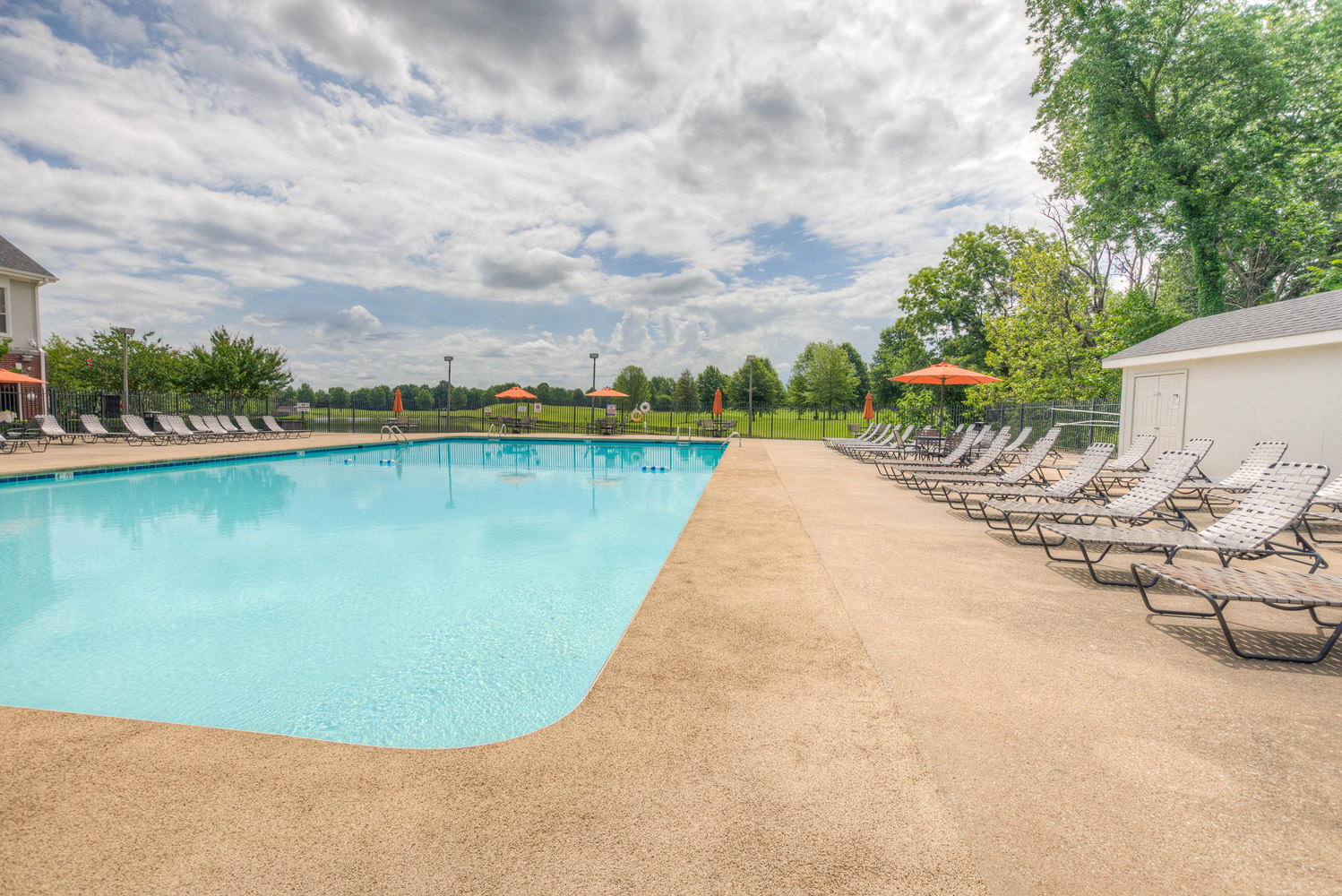 Large Pool at The Park at Forest Hill Apartments in Memphis, Tennessee