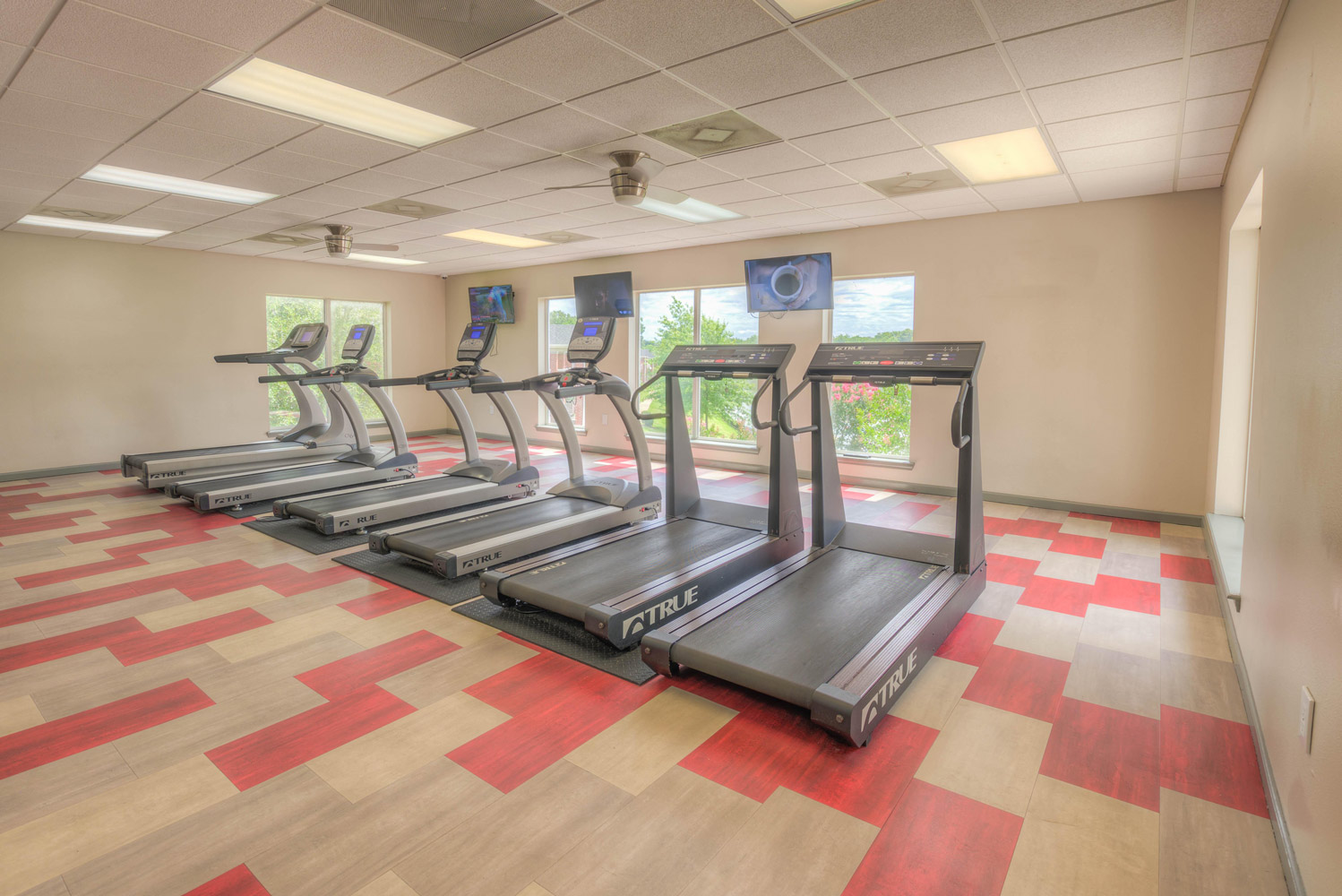 Cardio Equipment at The Park at Forest Hill Apartments in Memphis, Tennessee