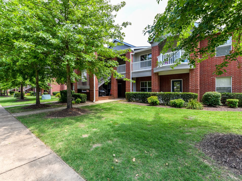 Private Balconies at The Park at Forest Hill Apartments in Memphis, Tennessee