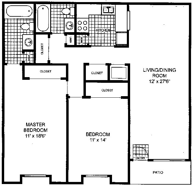 One Bedroom Apartments Tampa