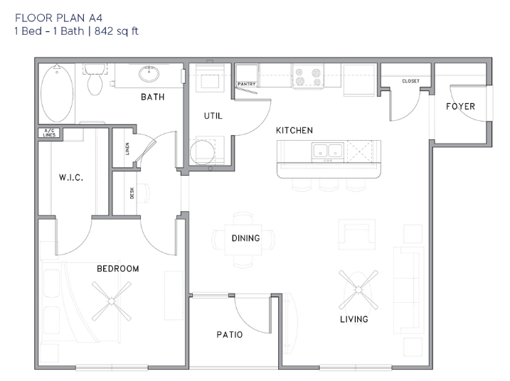 Park Rowe Village - Floorplan - A4