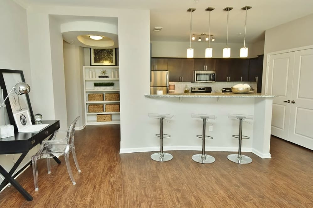 Breakfast Bar at Park Rowe Village Apartments in Baton Rouge, Louisiana