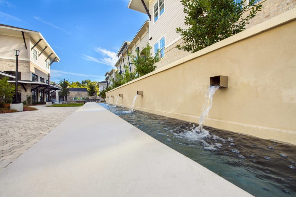 Water Features at Park Rowe Village Apartments in Baton Rouge, Louisiana