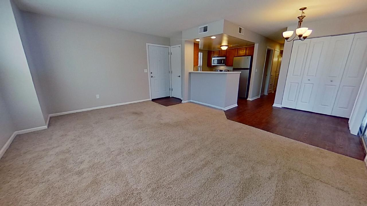 Living Room at Patterson Place Apartments in Saint Louis, Missouri