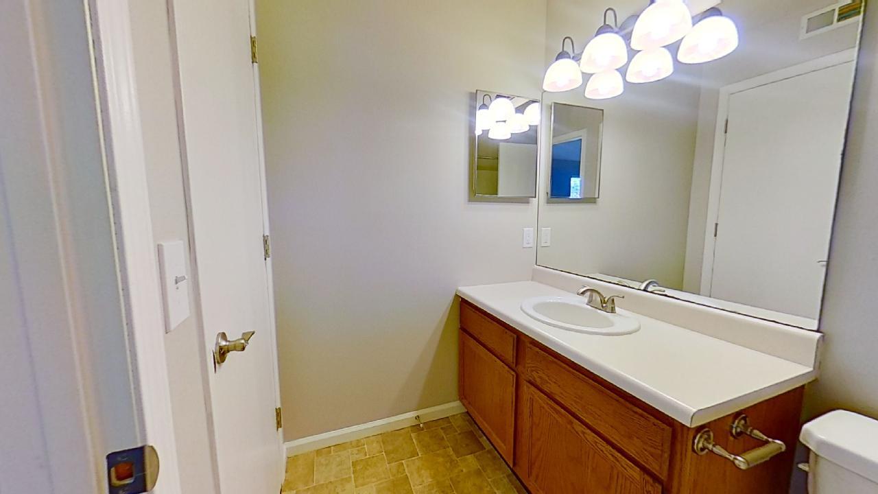 Bathroom at Patterson Place Apartments in Saint Louis, Missouri