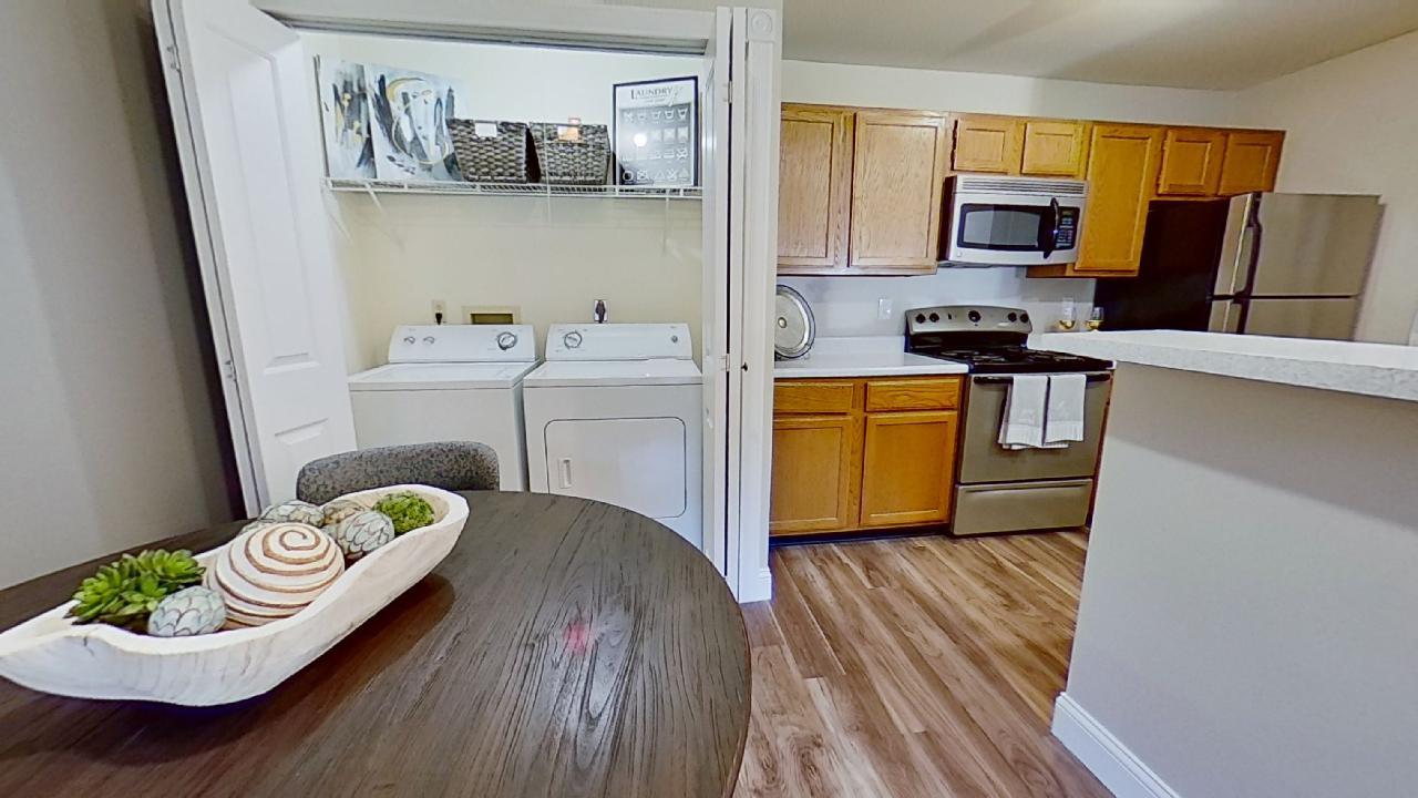 Wash Area at Patterson Place Apartments in Saint Louis, Missouri
