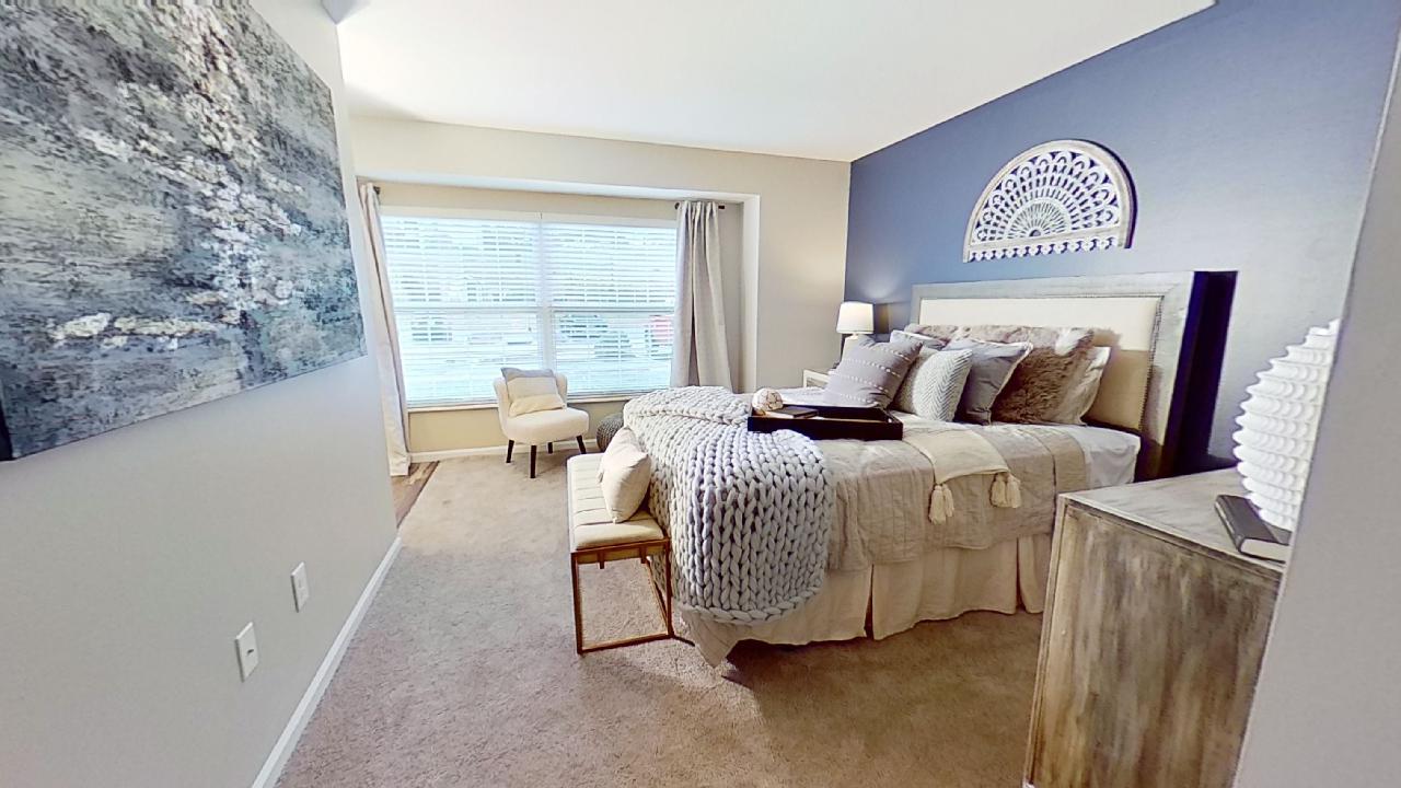 2 Bedroom Floor Plan at Patterson Place Apartments in Saint Louis, Missouri