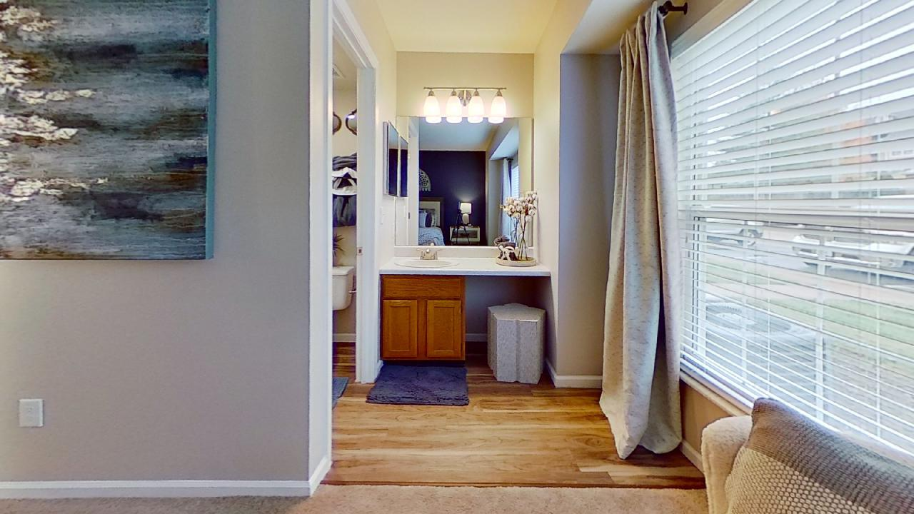 Designer Lighting at Patterson Place Apartments in Saint Louis, MO