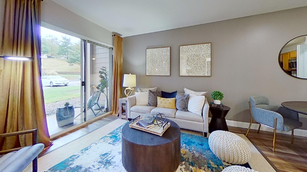 Interior at Patterson Place Apartments in Saint Louis, Missouri