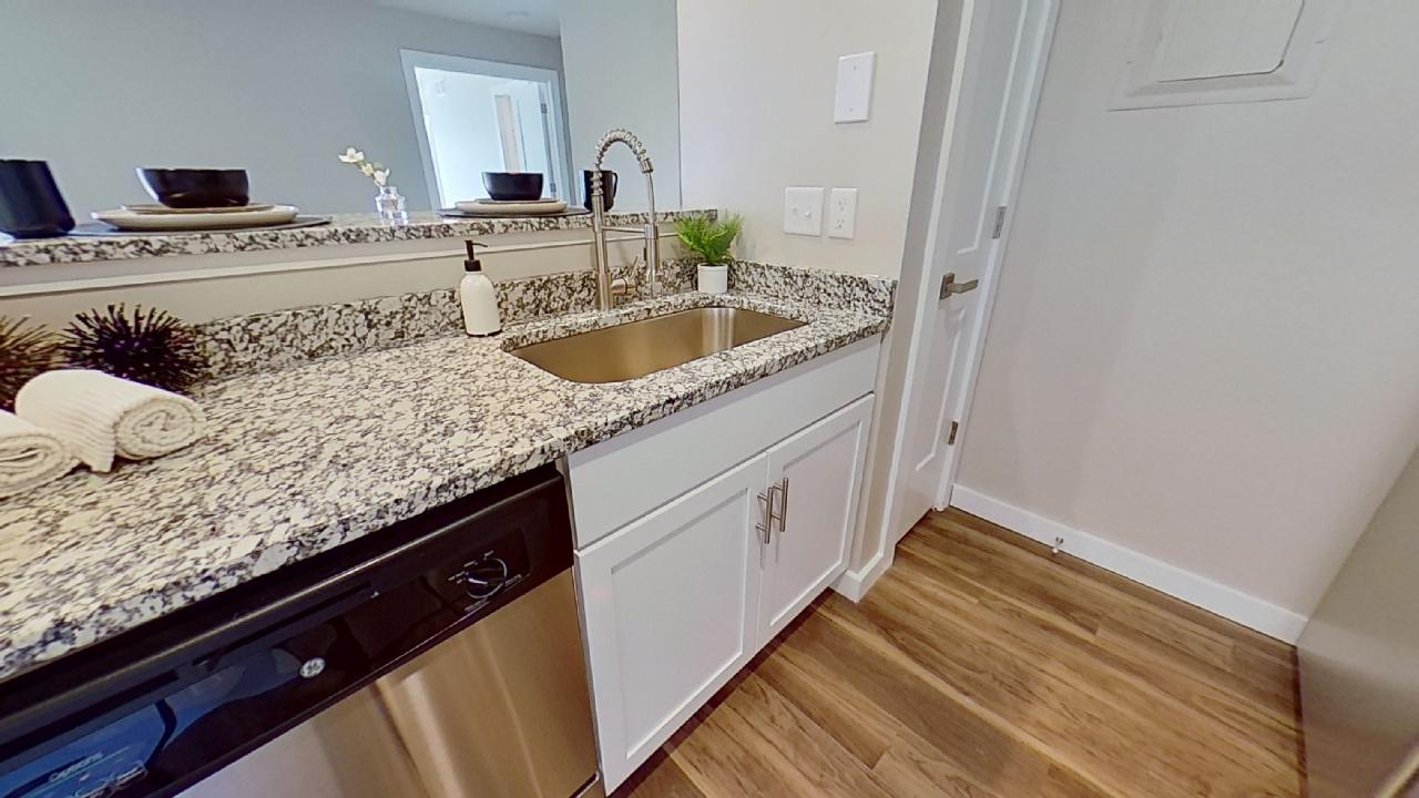 Granite Countertop at Patterson Place Apartments in Saint Louis, Missouri