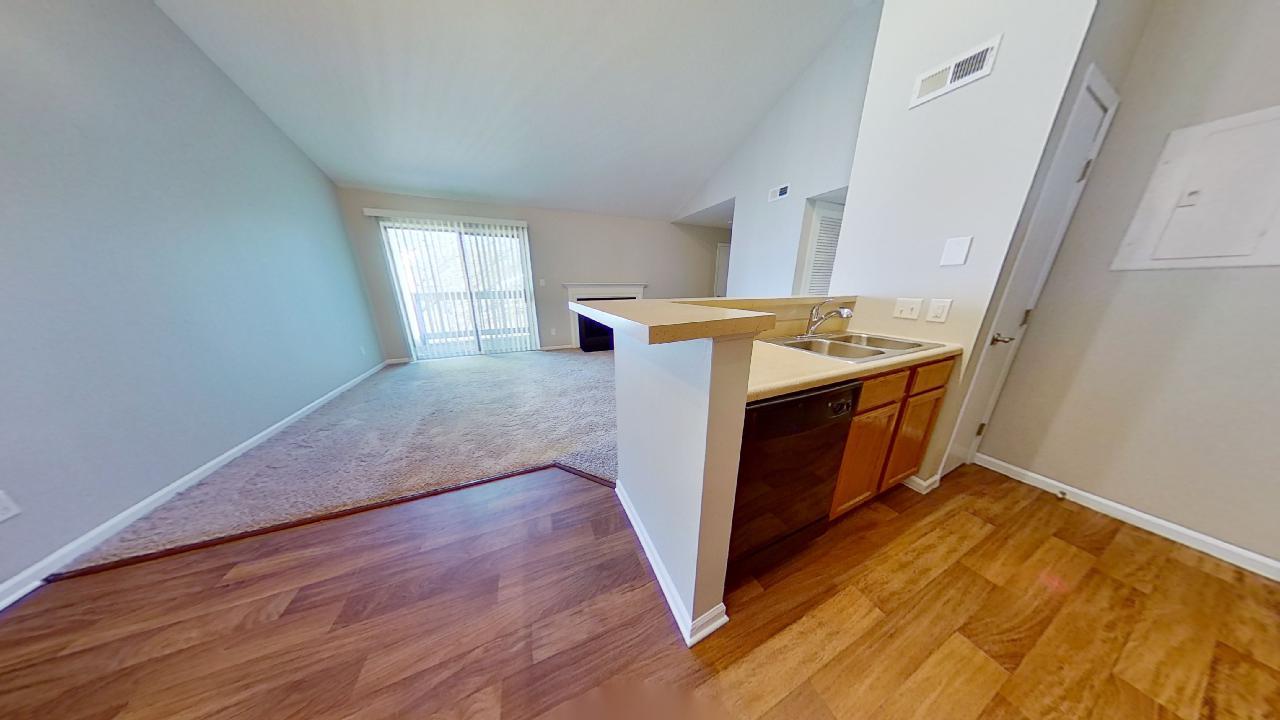 Wood Flooring at Patterson Place Apartments in Saint Louis, Missouri