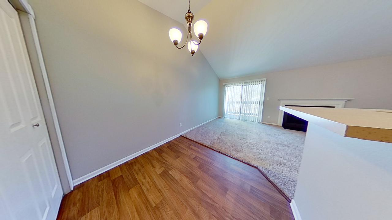Custom Wall Finish at Patterson Place Apartments in Saint Louis, Missouri