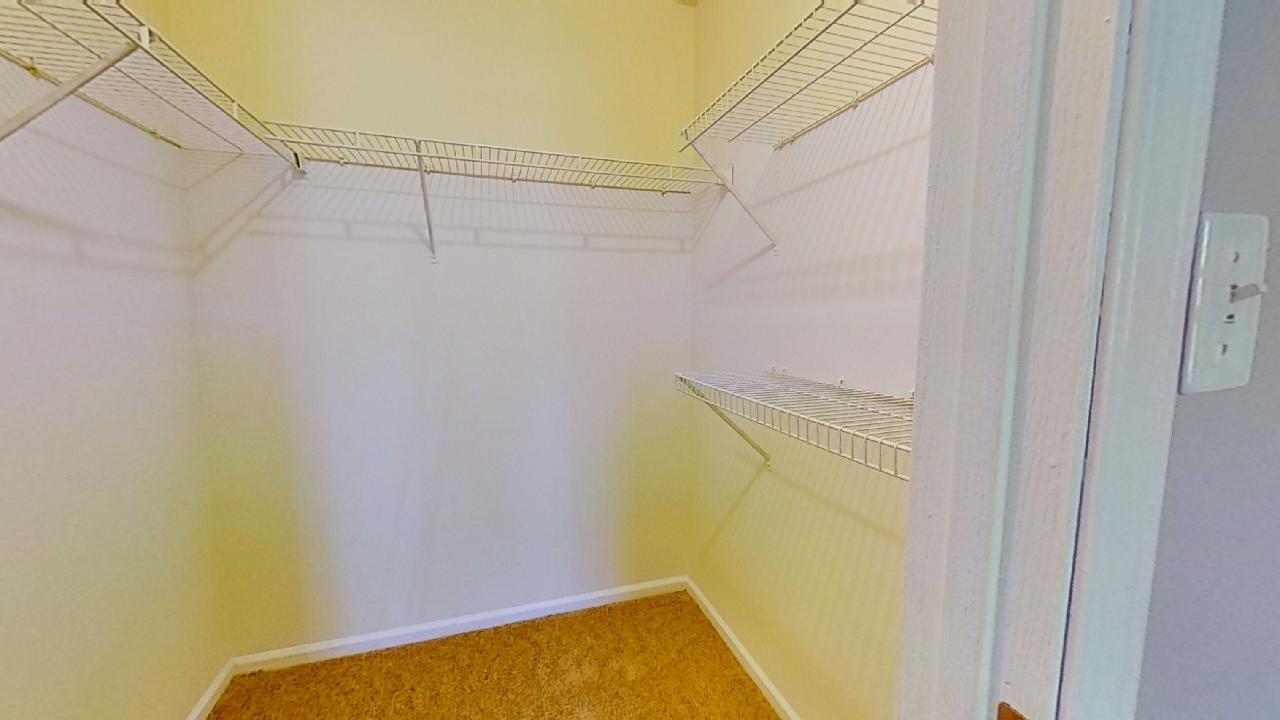 Closet Area at Patterson Place Apartments in Saint Louis, Missouri